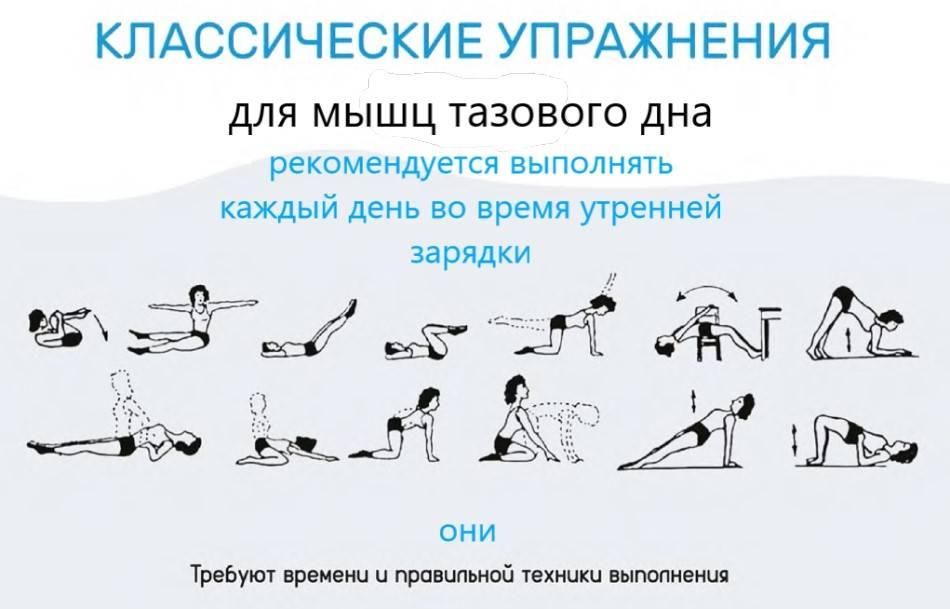 7 упражнений для тренировки мышц тазового дна - лучший комплекс
