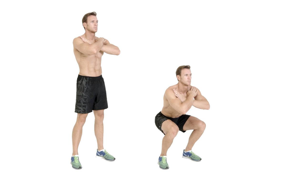 Упражнения для ног в домашних условиях для мужчин и женщин