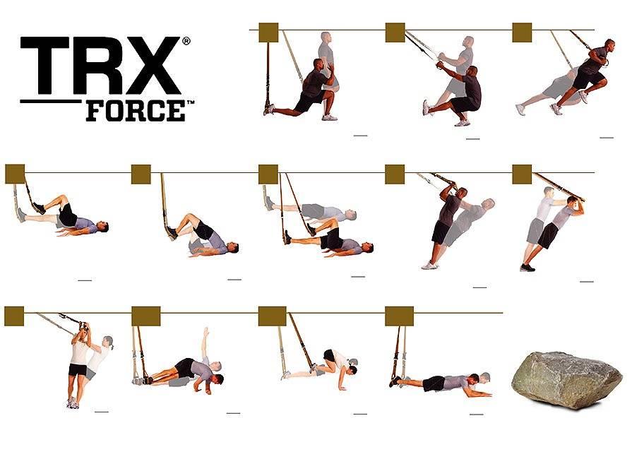 Упражнения с trx петлями для занятий дома или в тренажером залеwomfit
