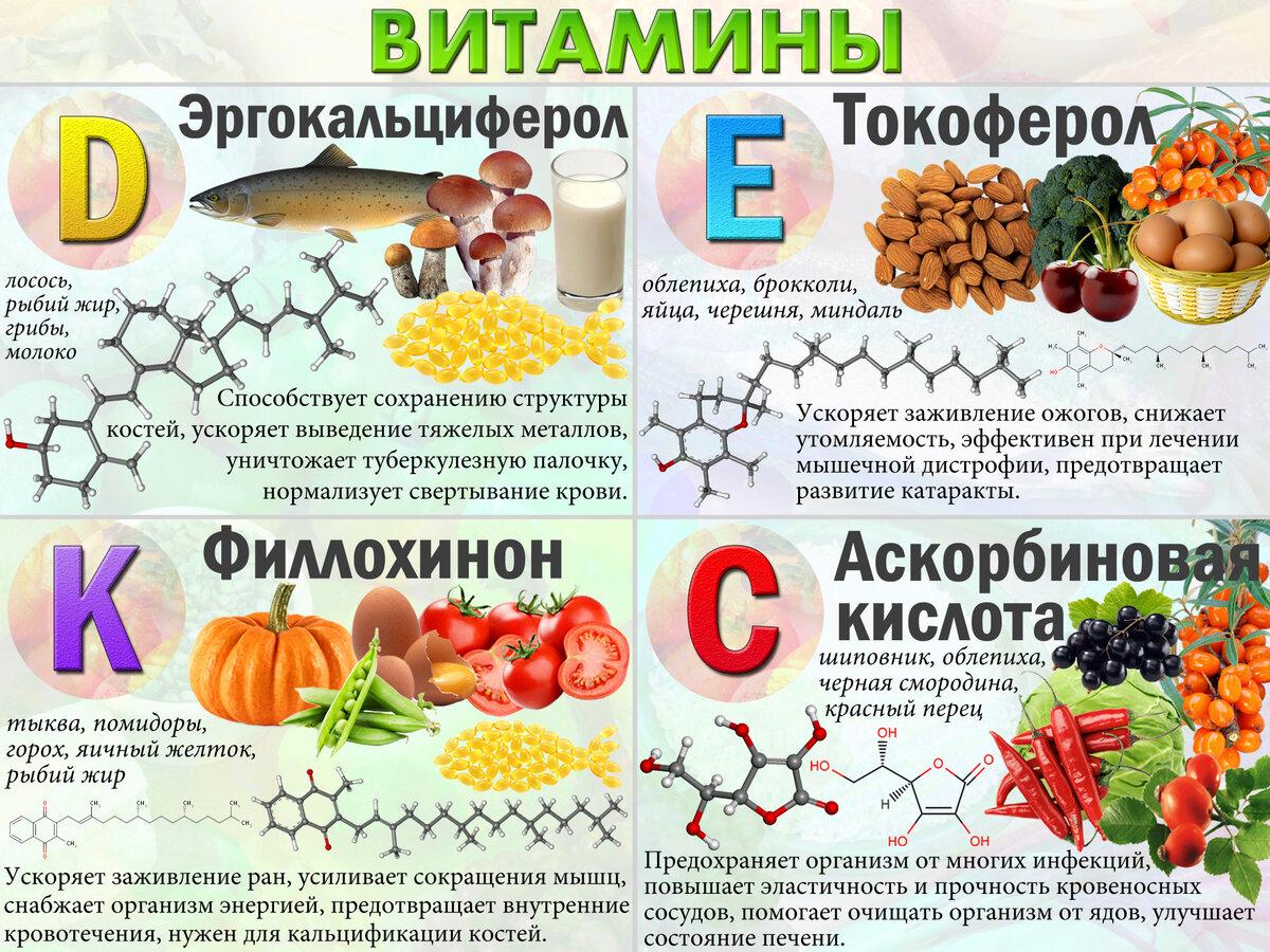 #химия | что необходимо знать о витаминах? - hi-news.ru