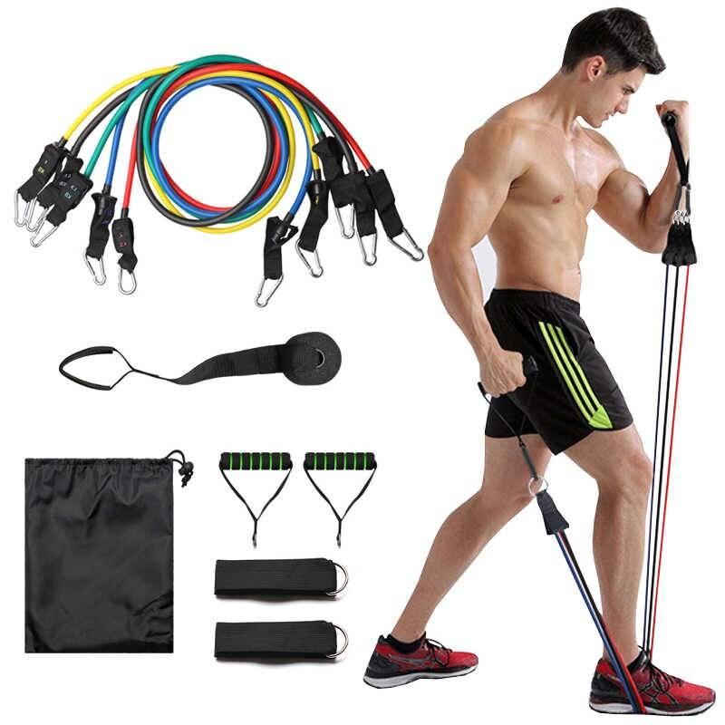 Упражнения с эспандером плечевым для женщин в домашних условиях
