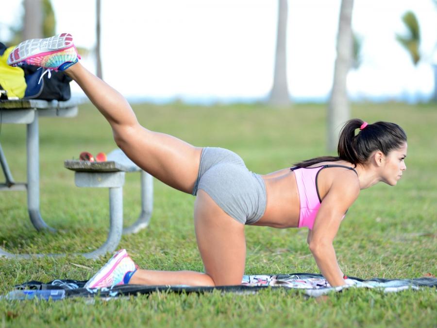 Мишель Левин – фитнес-модель, звезда спорта, инстаграма и глянца