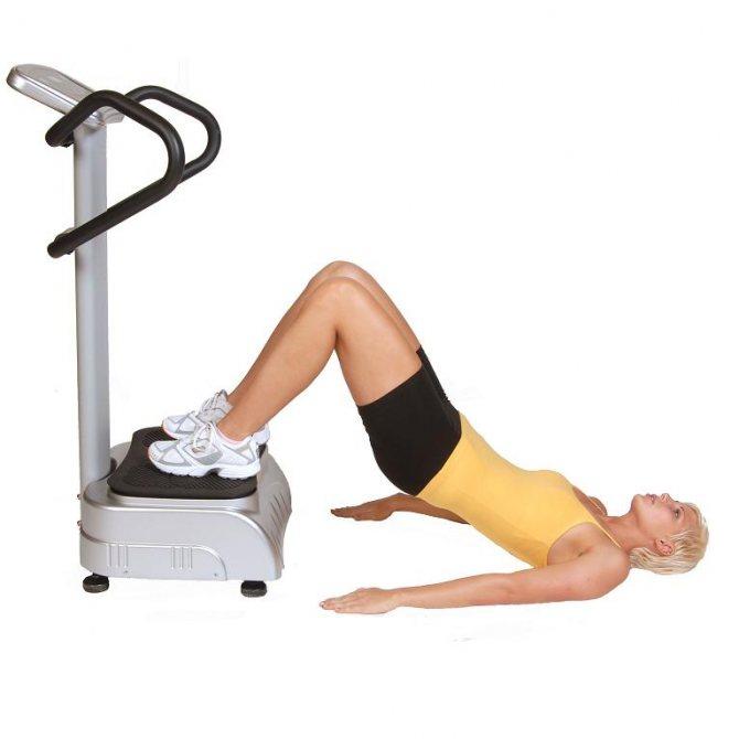 Виброплатформа для похудения: занятия на тренажере