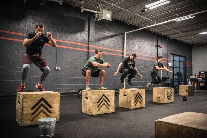 Подбор упражнений для кроссфита с гирей