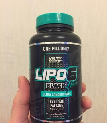 Lipo-6 black ultra concentrate от nutrex