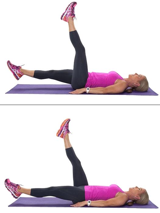 Упражнение «ножницы» для идеальных ног: 4 уровня сложности