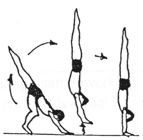 Как делать колесо на одной руке (с иллюстрациями)