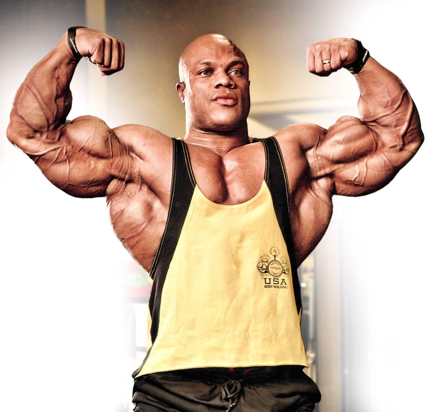 Фил хит- шестикратный мистер олимпия, тренировки и питание