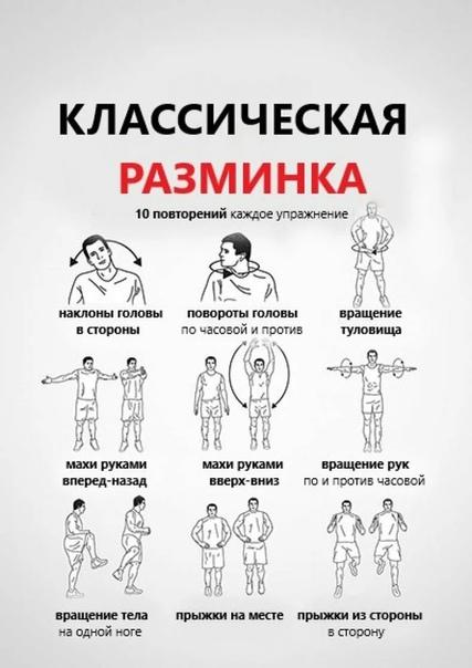 Правильная разминка перед тренировкой в тренажерном зале: базовые упражнения - tony.ru