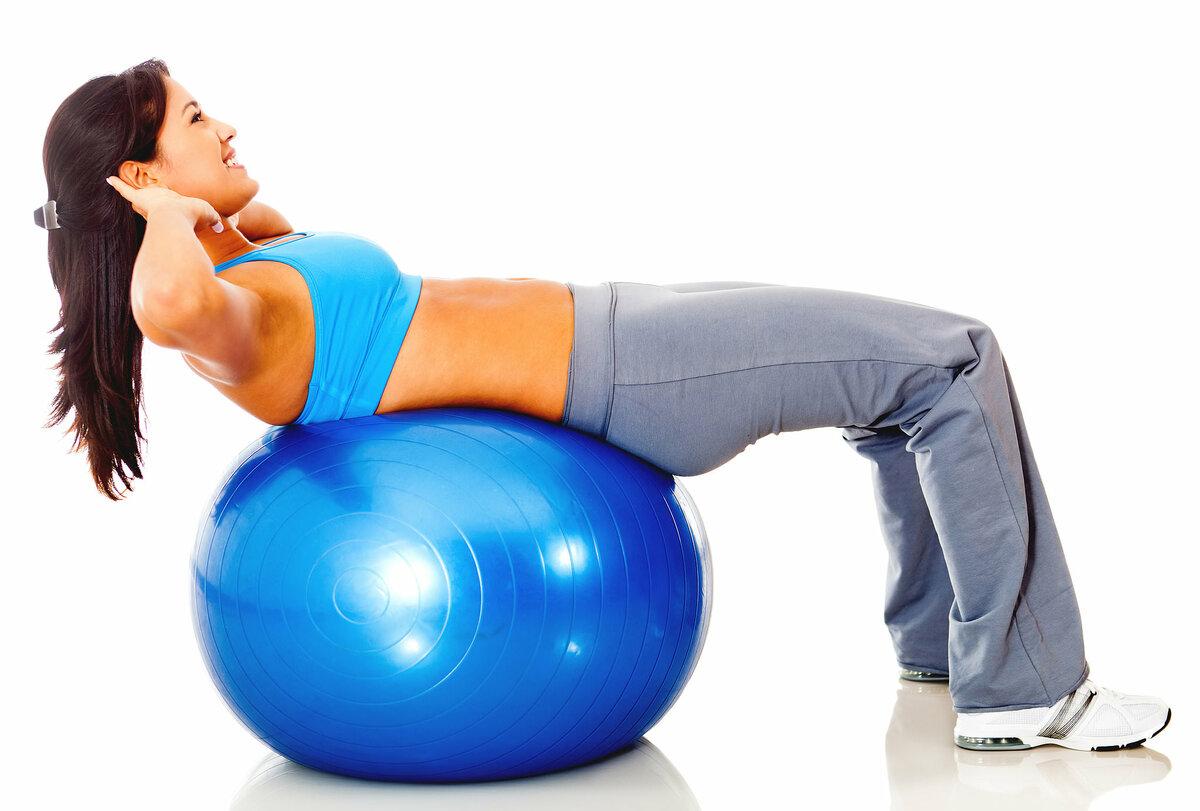 """Упражнения для пресса на фитболе — 12 эффективных упражнений — """"fito"""" — красота и здоровье"""