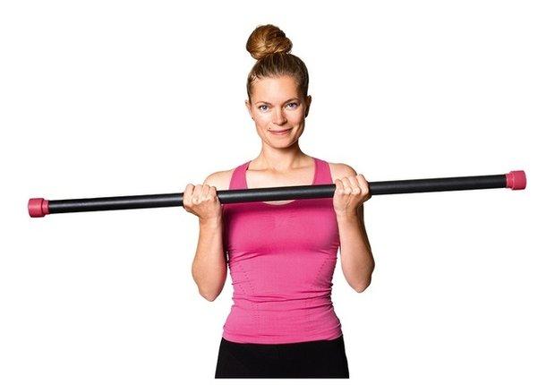 Упражнения с бодибаром для разных частей тела, их преимущества