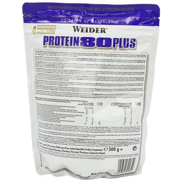 Protein 80 plus от weider