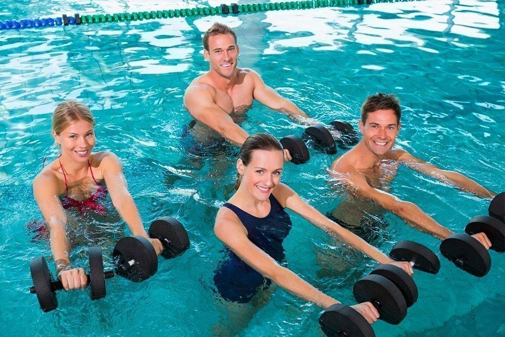 Аквааэробика польза для похудения и эффективность занятий в воде