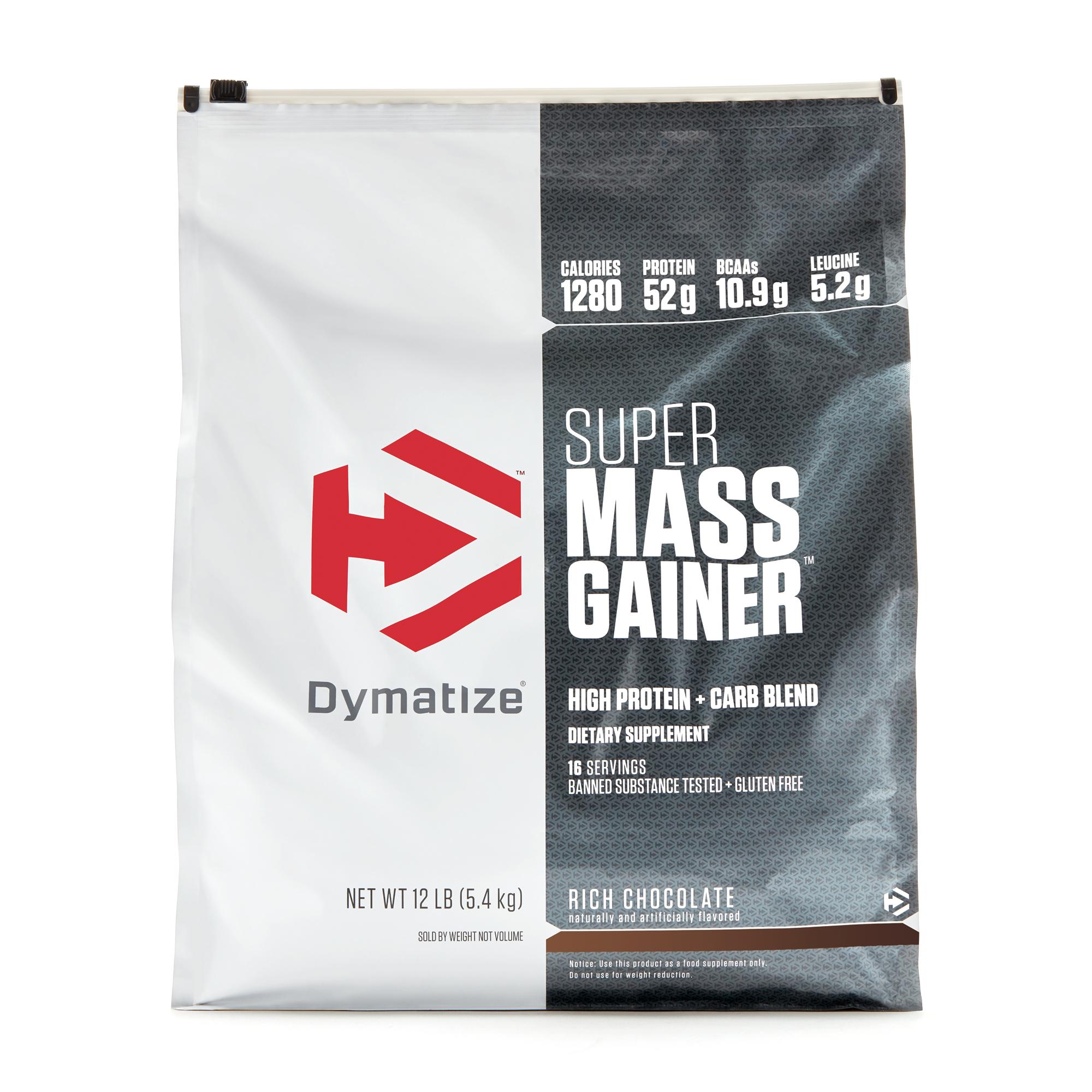 Как принимать гейнер super mass от dymatize