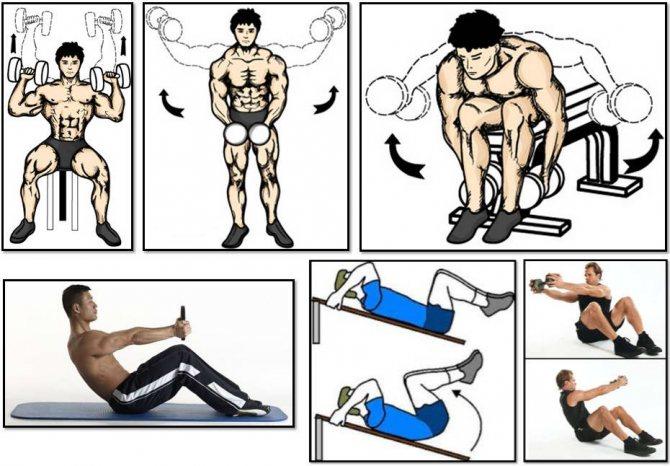 Упражнения для рук без гантелей