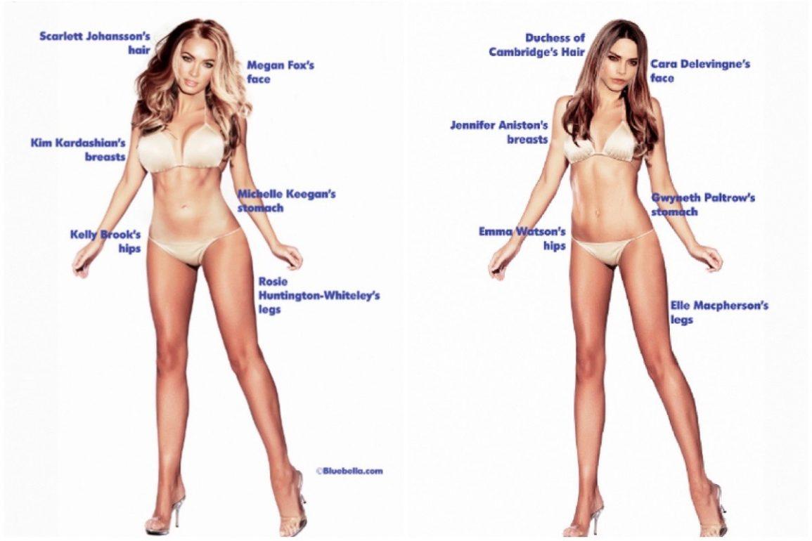 Идеальная фигура для девушки: мнение женщин, мужчин и врачей