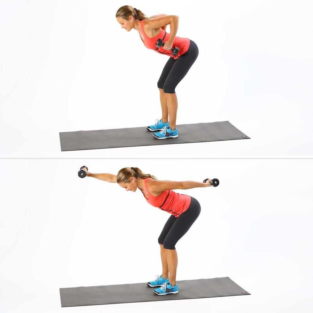 Эффективные упражнения с гантелями для женщин | proka4aem.ru