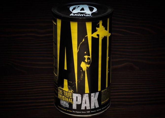 Animal pak (энимал пак) от universal nutrition