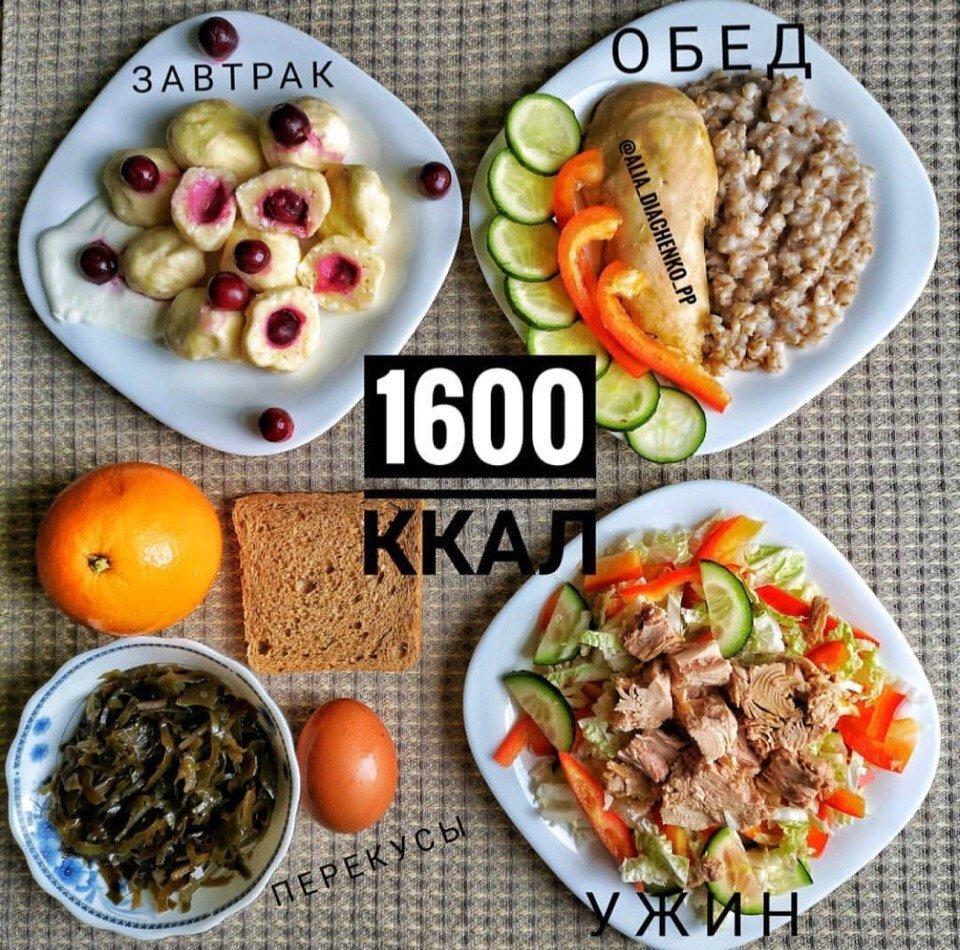 Меню на 1200 калорий в день на неделю с рецептами для похудения не сложные