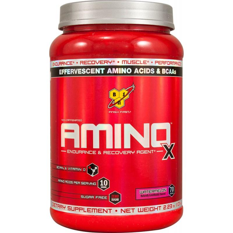 Как принимать аминокислотный комплекс bcaa amino x от bsn?