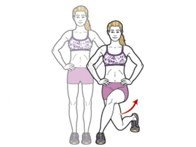 Выпады для ног и ягодиц — как правильно делать это упражнение