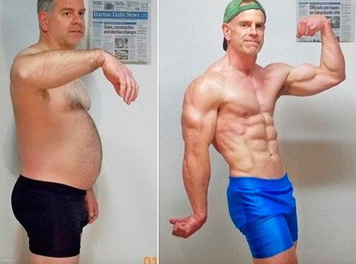 Как сжечь жир и правильно набрать мышечную массу