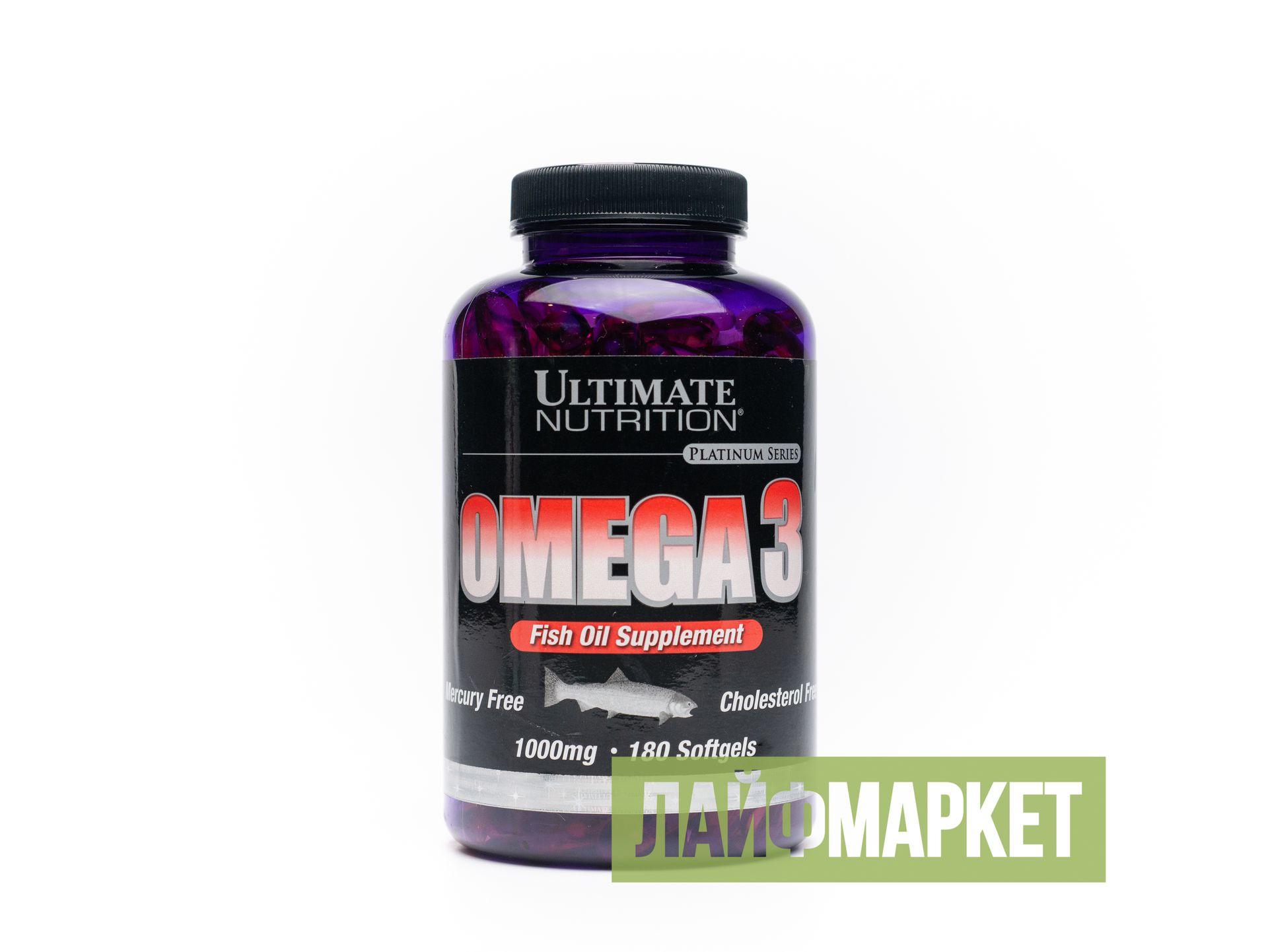 Omega 3 от ultimate nutrition: как принимать, состав и отзывы