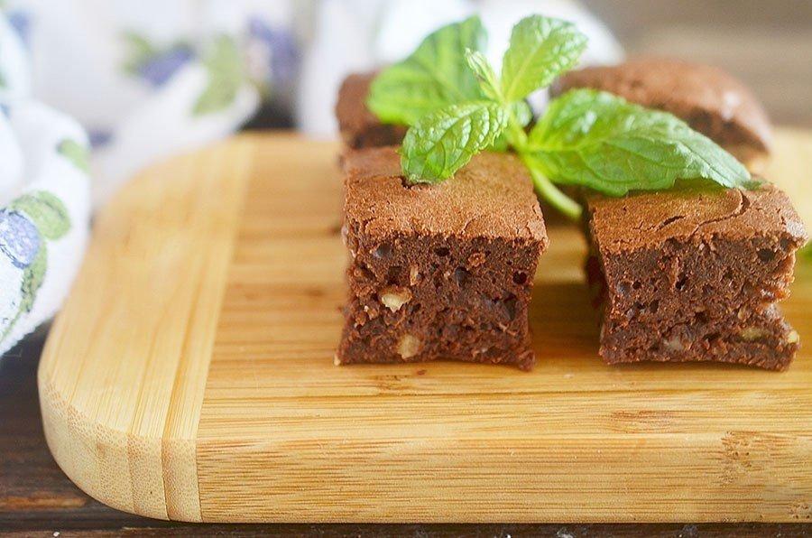 Шоколадный брауни - 7 лучших фото рецептов. брауни с творогом, вишней.