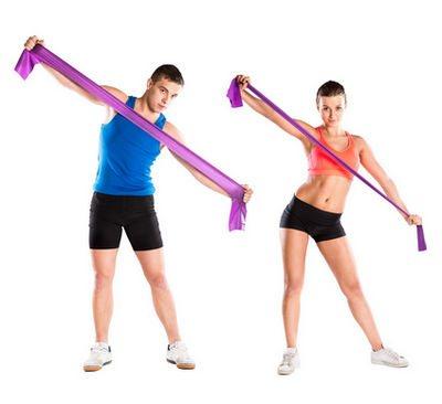 Упражнения с эспандером для мужчин в домашних условиях быстро