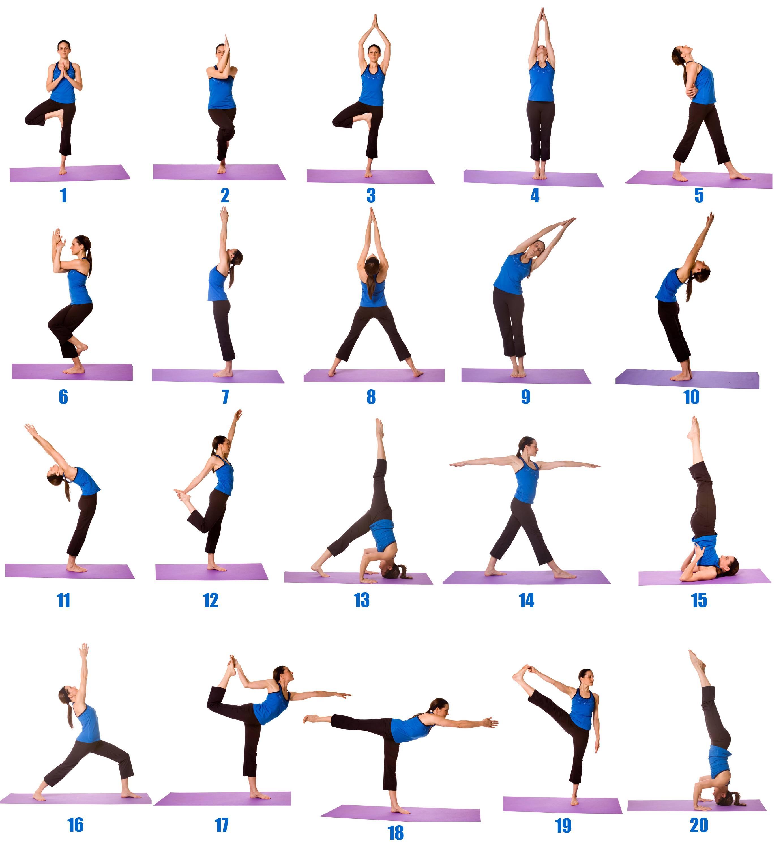 Топ 21 поза йоги для начинающих в домашних условиях