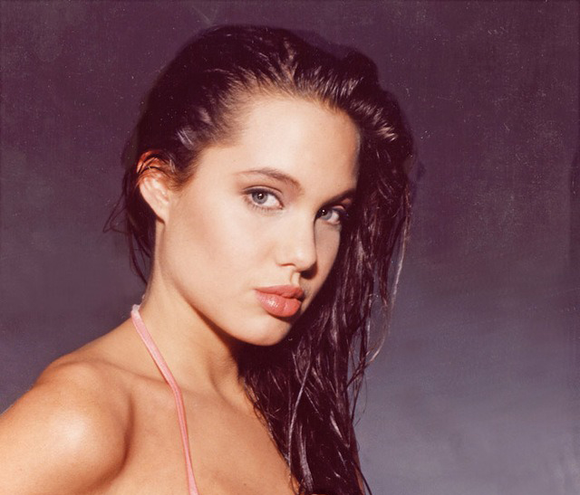 16-летняя анджелина джоли в фотосессии 1991 года. - на руинах страны советов