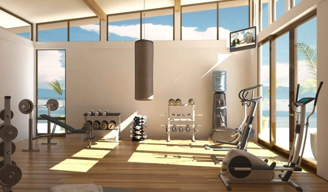 Чем оборудовать домашний спортзал