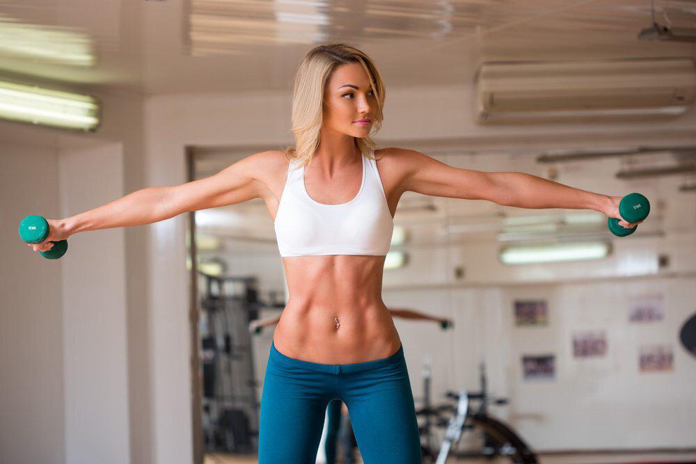 Как похудеть в плечах — похудение