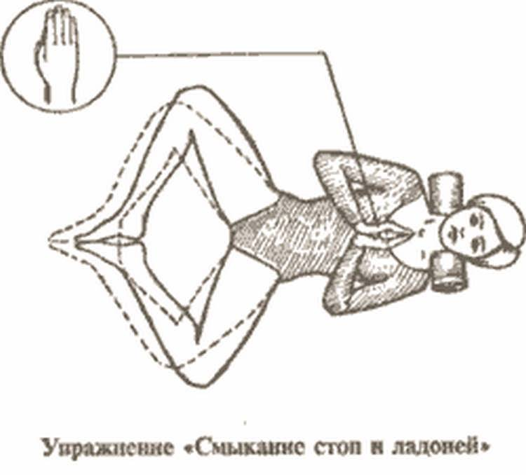 Упражнение золотая рыбка