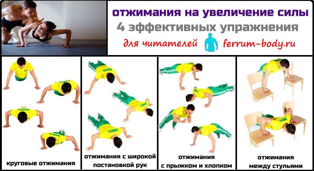 Развитие силы мышц - средства, методы, упражнения для тренировки физической силы