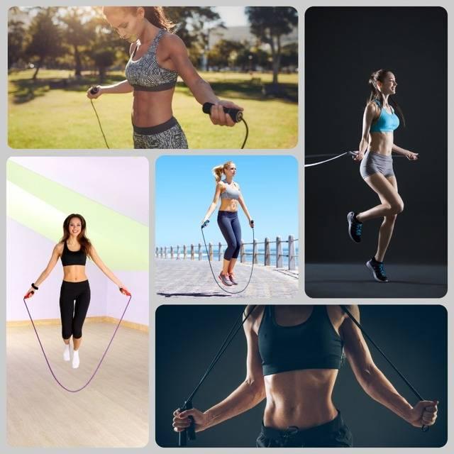 Прыжки со скакалкой: эффективность, плюсы и минусы, упражнения, план занятий