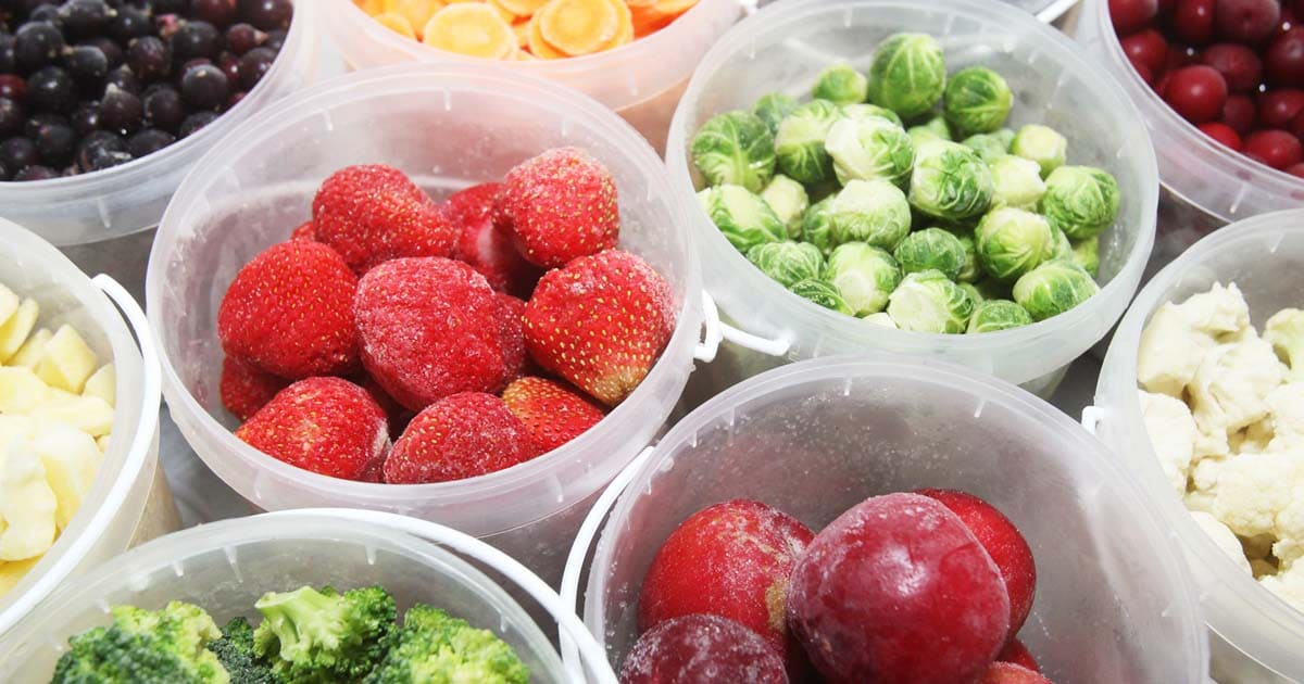 50 продуктов, которые можно замораживать