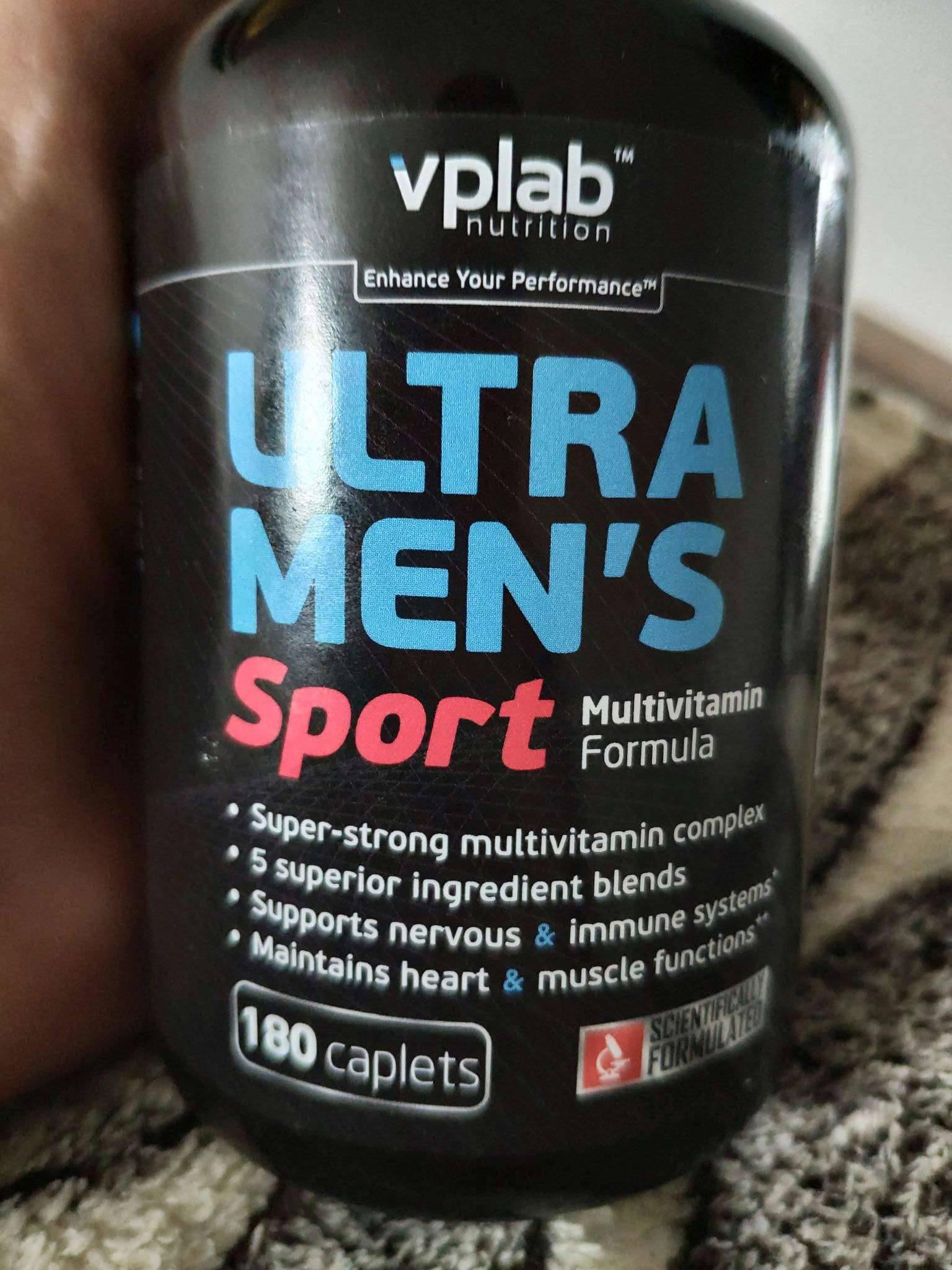 Ultra men's sport multivitamin formula от vp laboratory: как принимать витамины для мужчин - спортзал