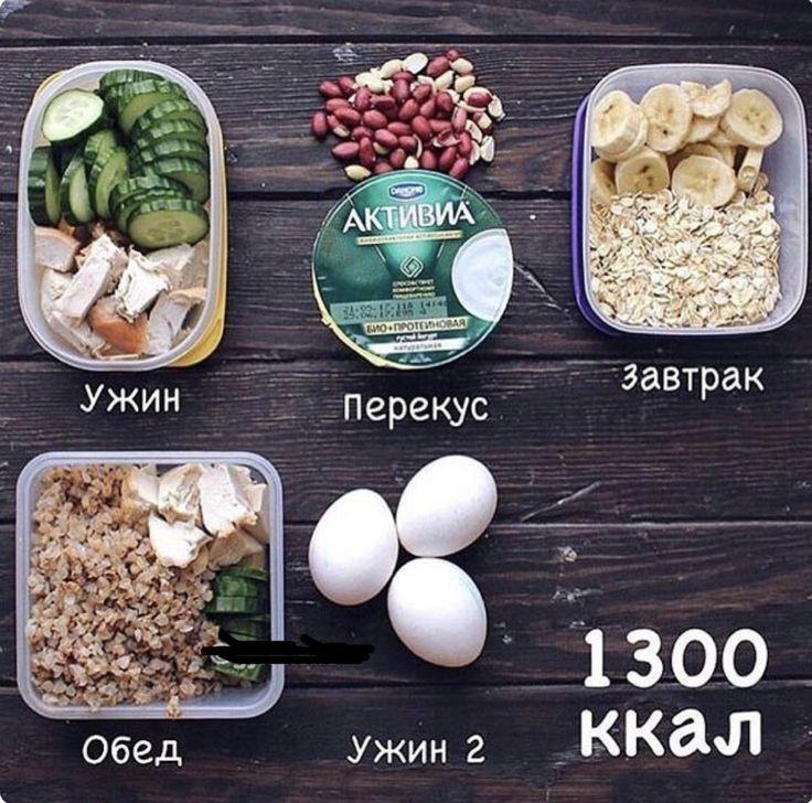 Примерное меню на 1200 ккал в день с рецептами на неделю из простых продуктов