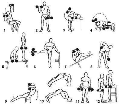 Программа тренировок для мужчин в домашних условиях – упражнения и рекомендации