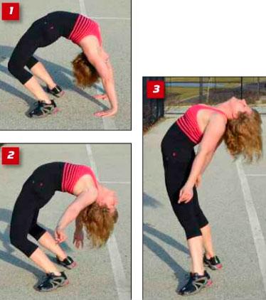 Мостик - истинная сила спины. программа тренировок.