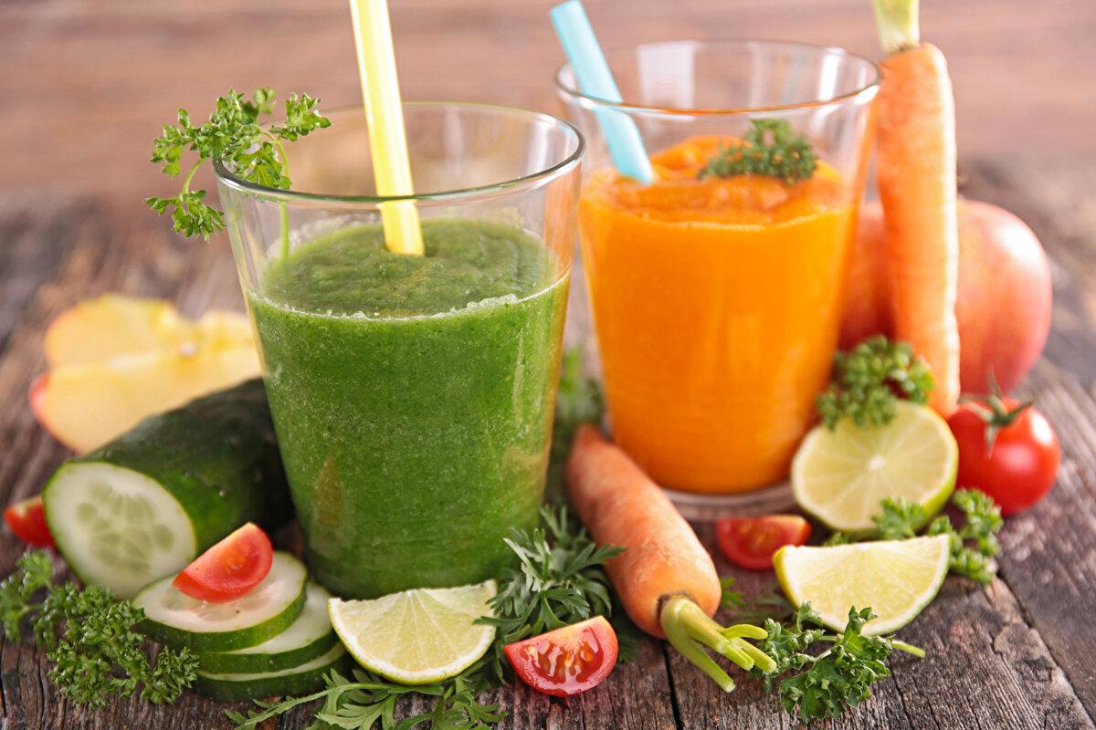 Польза овощных соков и секреты при употреблении