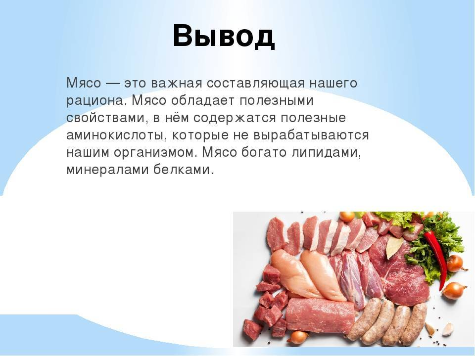 Вред мяса для организма человека доказан наукой