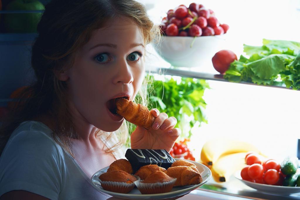 Что можно съесть на ночь без вреда для фигуры