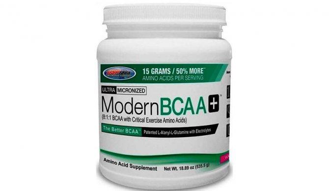 Modern bcaa от usplabs: состав, как правильно принимать, цены