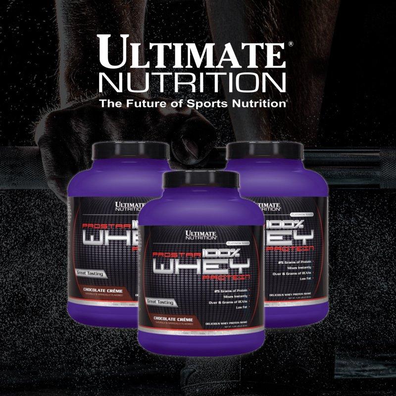 Протеин prostar 100% whey protein 2390 гр - 5lb (ultimate nutrition) — купить в москве в магазине спортивного питания pitprofi.ru