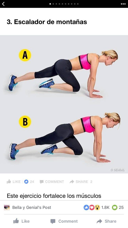 Упражнение «скалолаз» — техника выполнения в домашних условиях