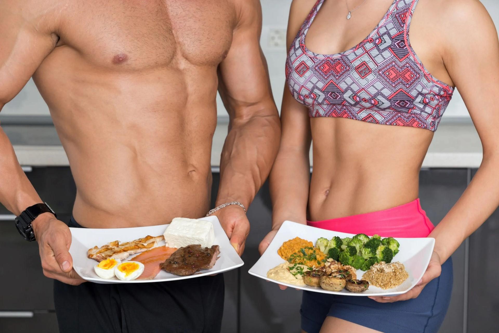 Спортивное питание для правильного курса сушки мышц и формирования рельефа у женщин и мужчин