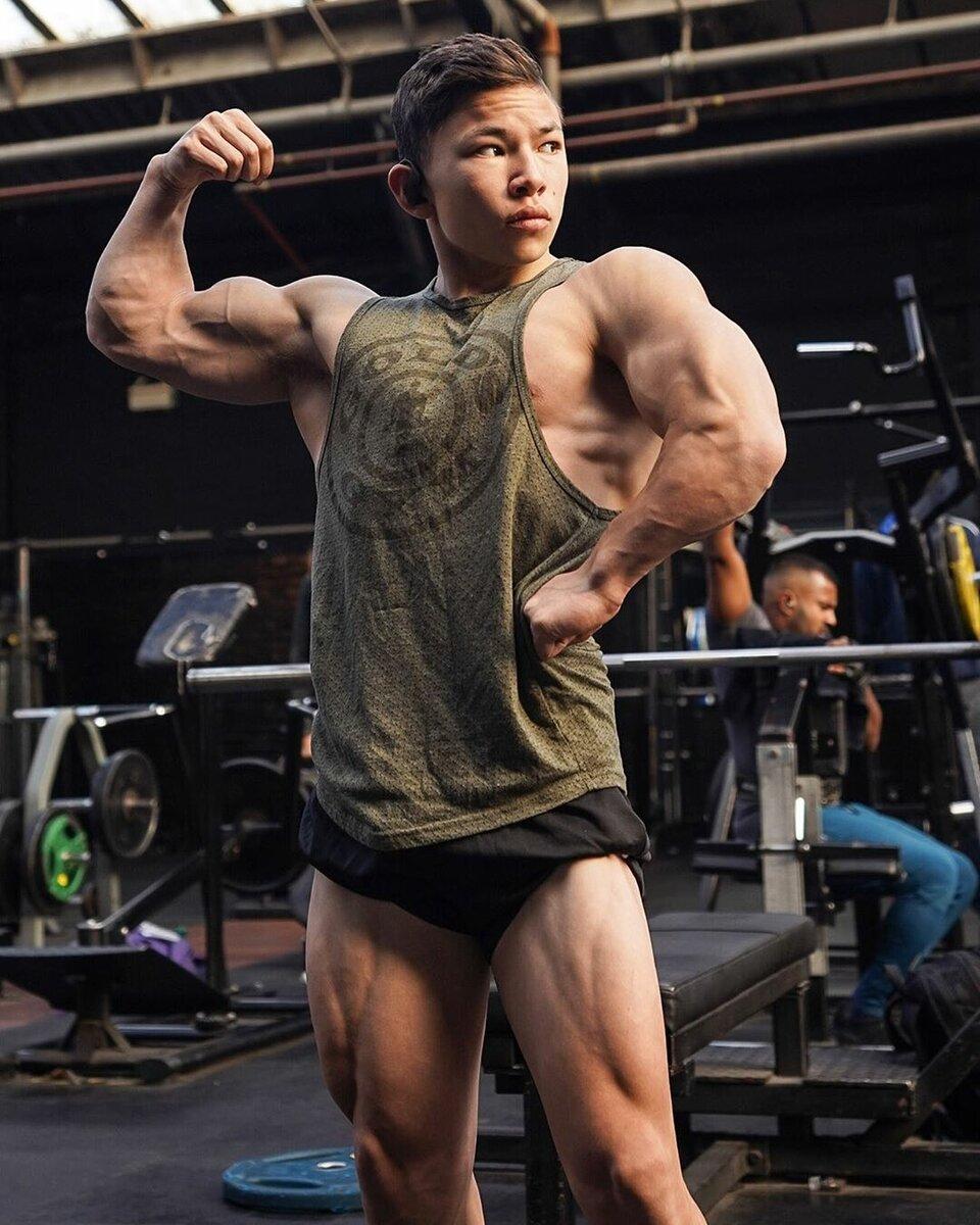 Самый молодой бодибилдер — Тристин Ли