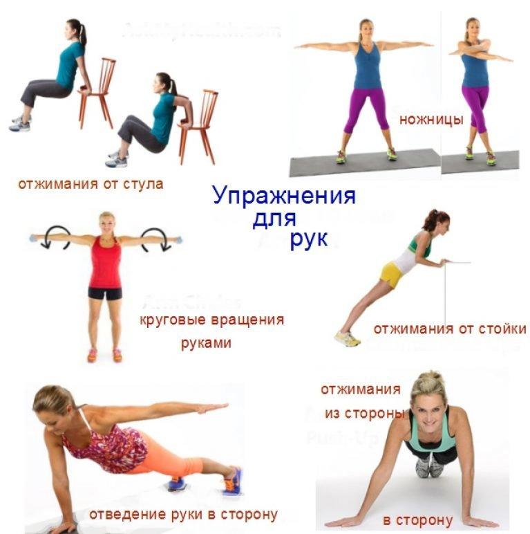 Эффективные и простые упражнения для похудения в домашних условиях